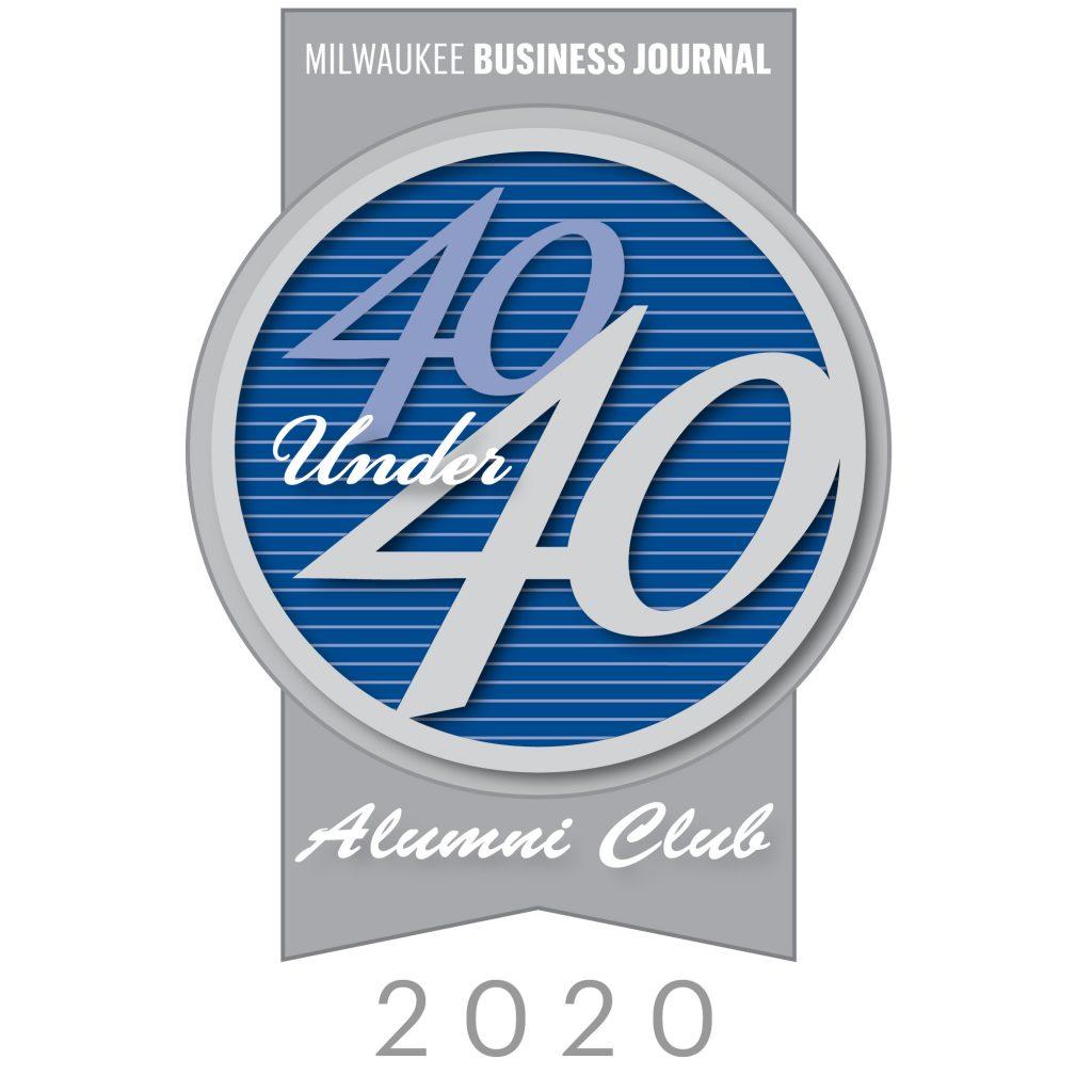 40 Under 40 Alumni Logo 2020